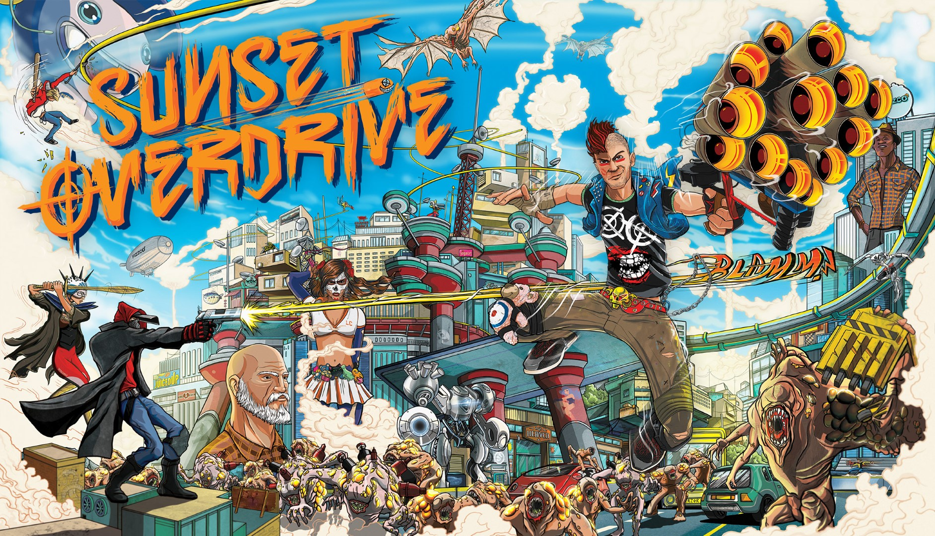 Sunset Overdrive - preview