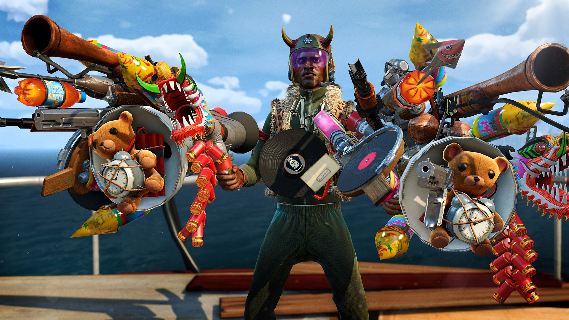 Klik pro zvětšení (Xbox One a herní resty - Sunset Overdrive)