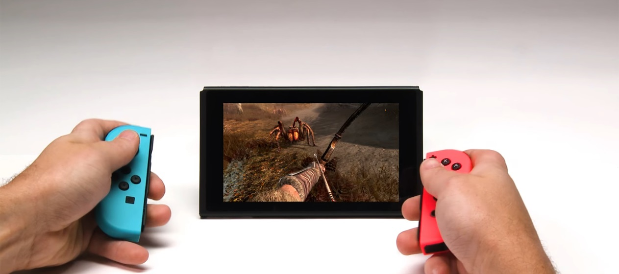 Skyrim Switch Hands on - preview