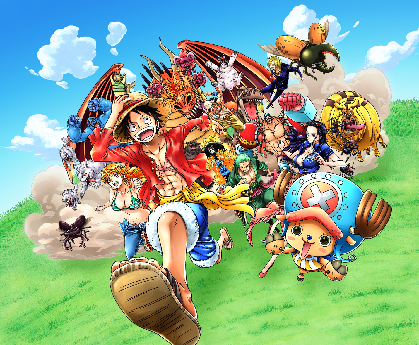 One Piece Unlimited World Red Deluxe Edition - recenze