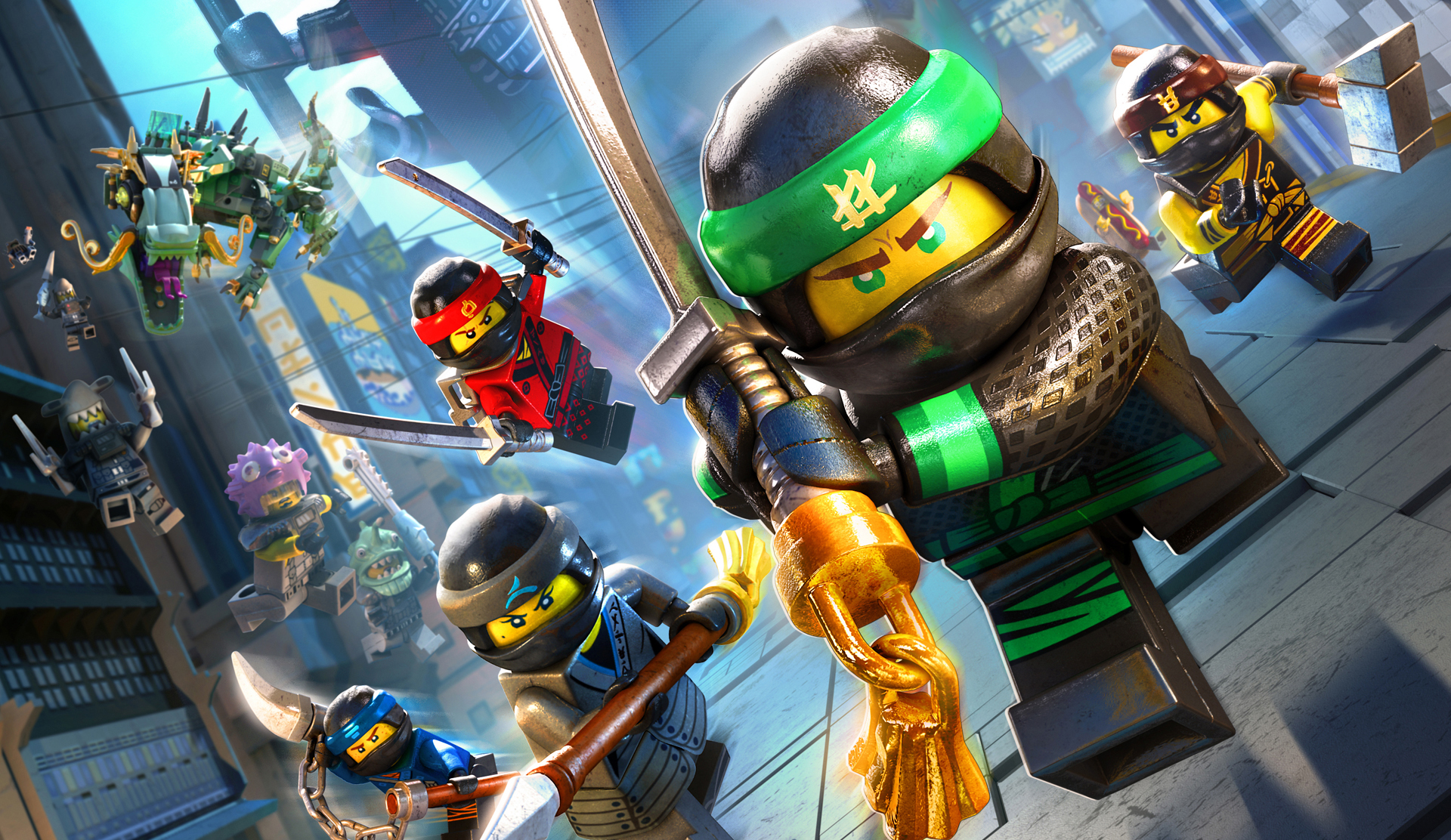 The LEGO Ninjago Movie Video Game - recenze