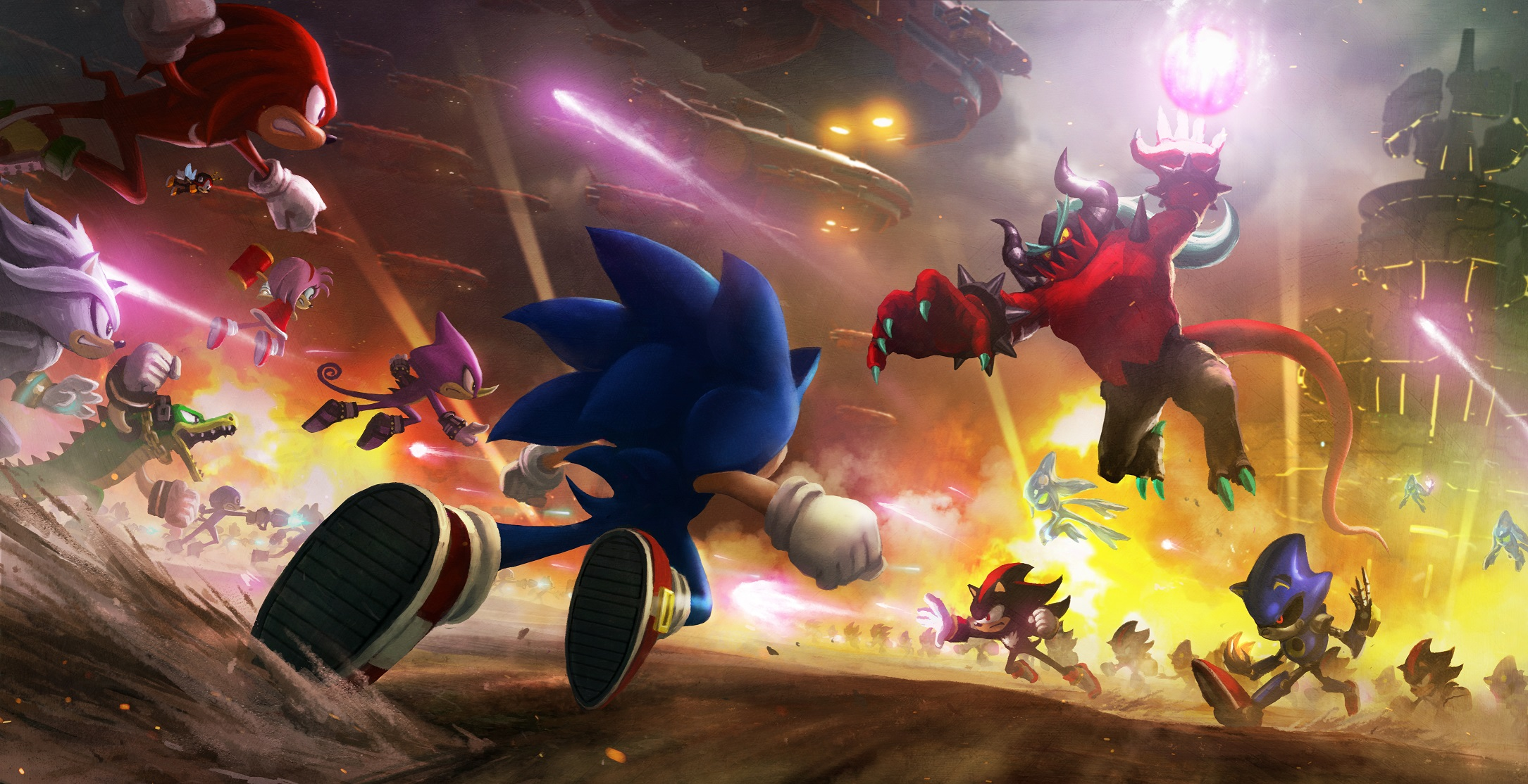 Sonic Forces - recenze