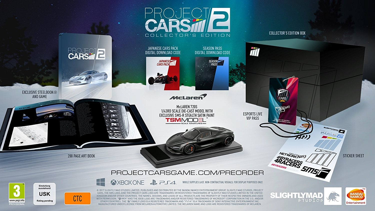 Win this project cars 2 collectors edition | gaming | lw mag.