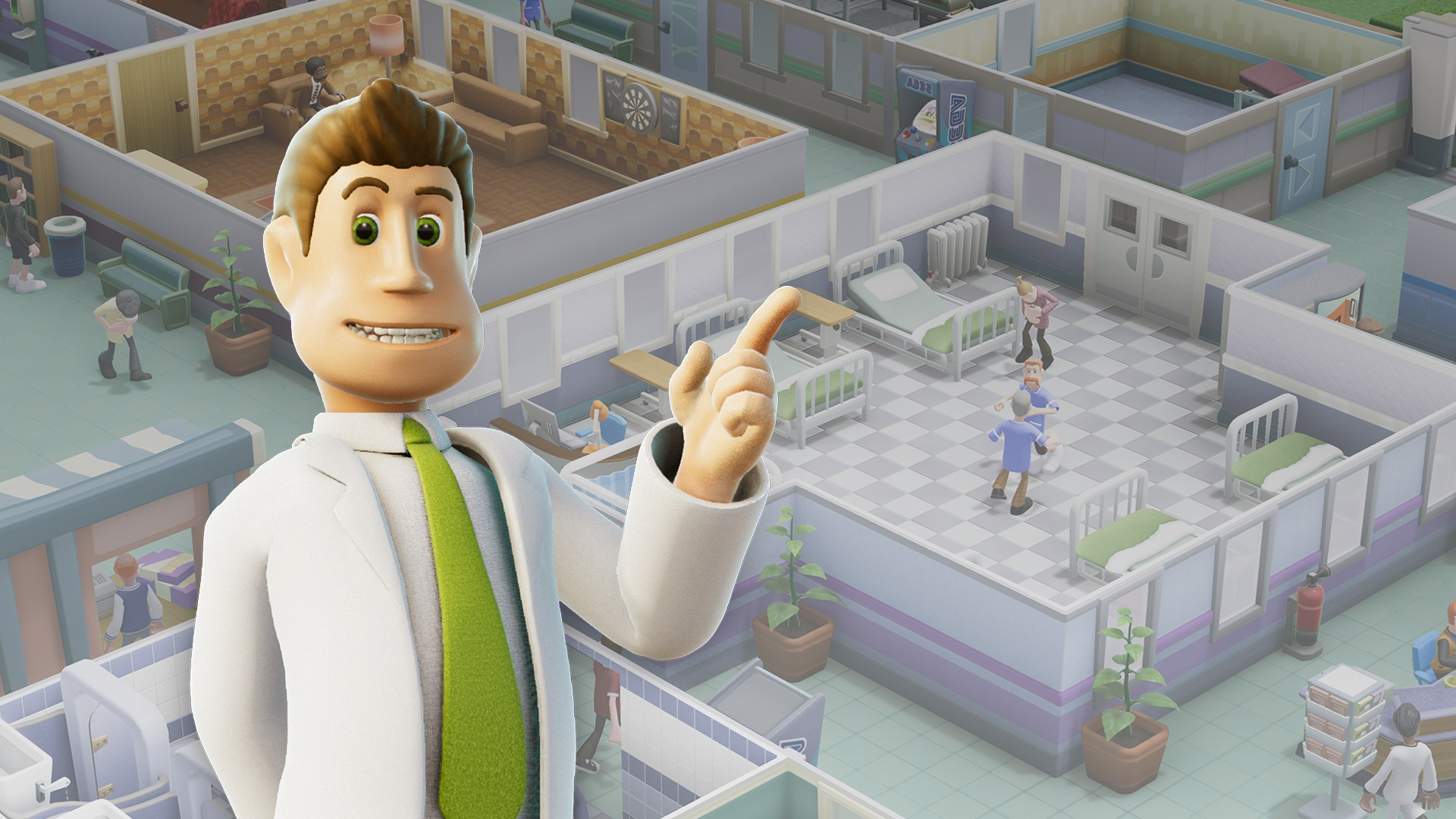 Two Point Hospital - recenze