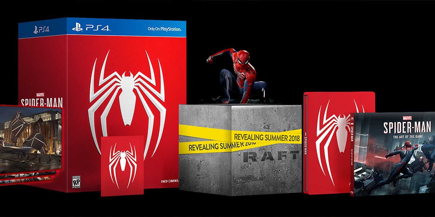 spider man ps4 special editions