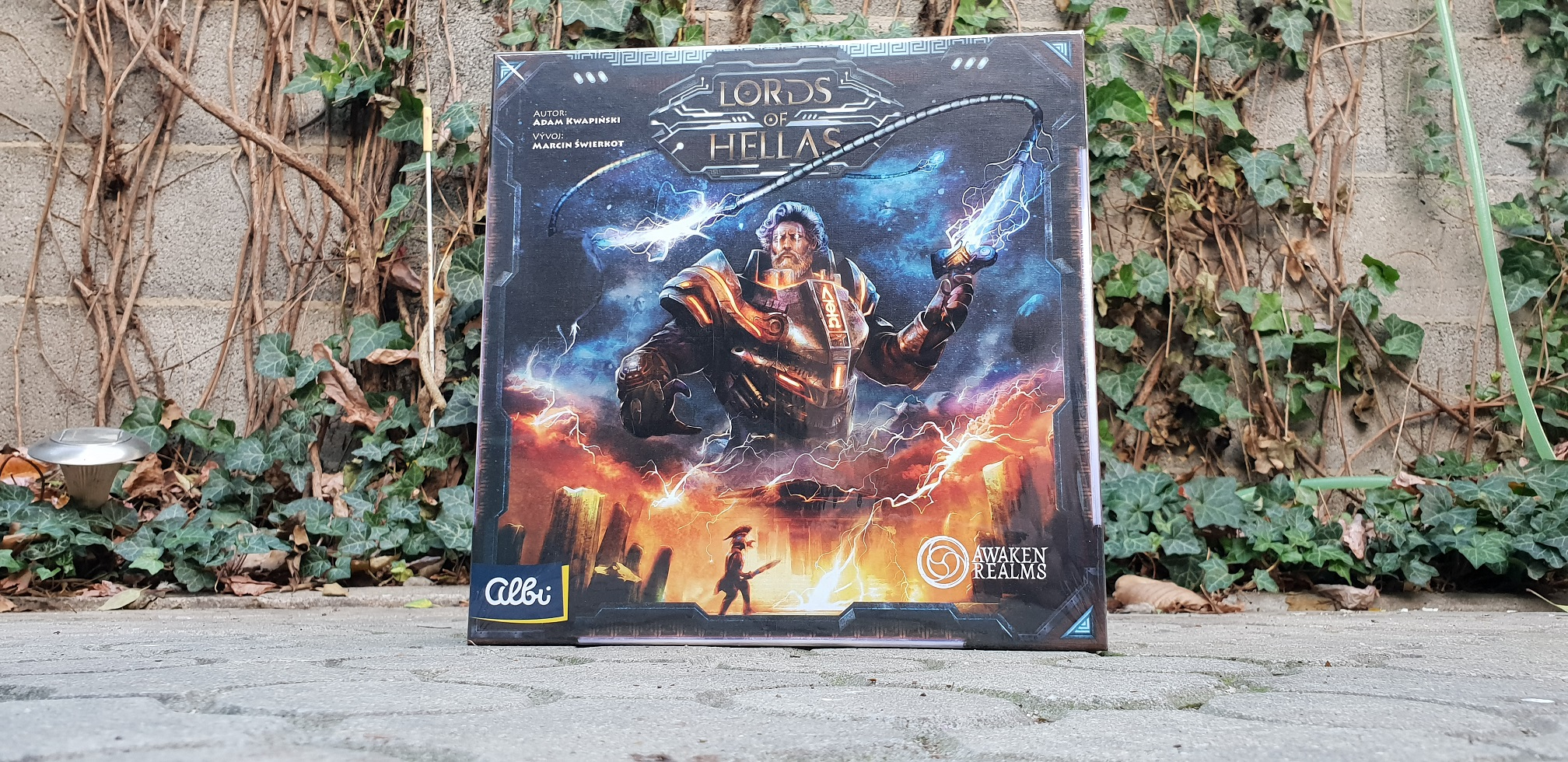 Lords of Hellas - recenze