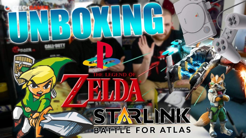 Rozbaľujeme Starlink: Battle for Atlas, Playstation Classic a iné