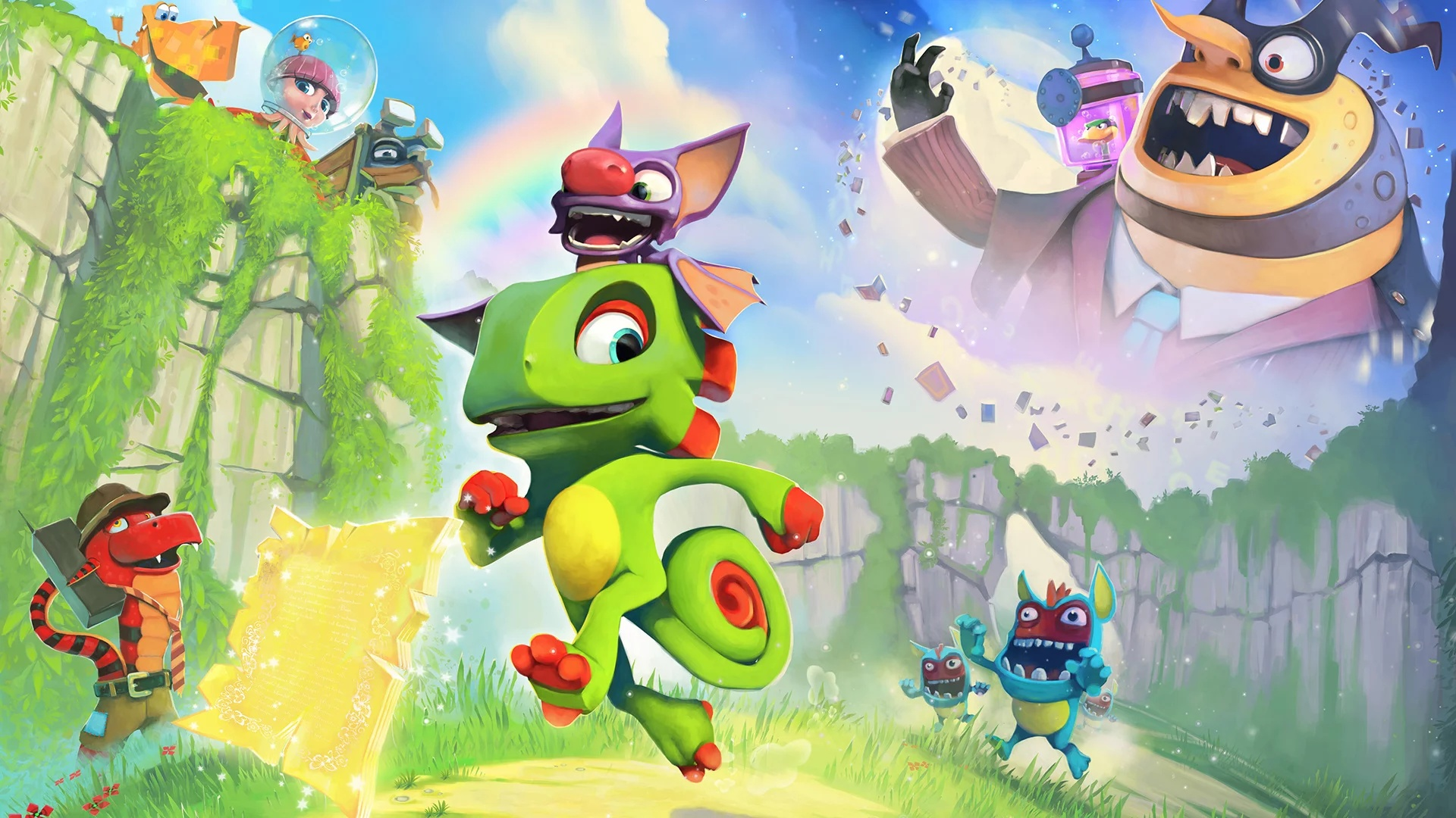 Yooka-Laylee and the Impossible Lair - recenze