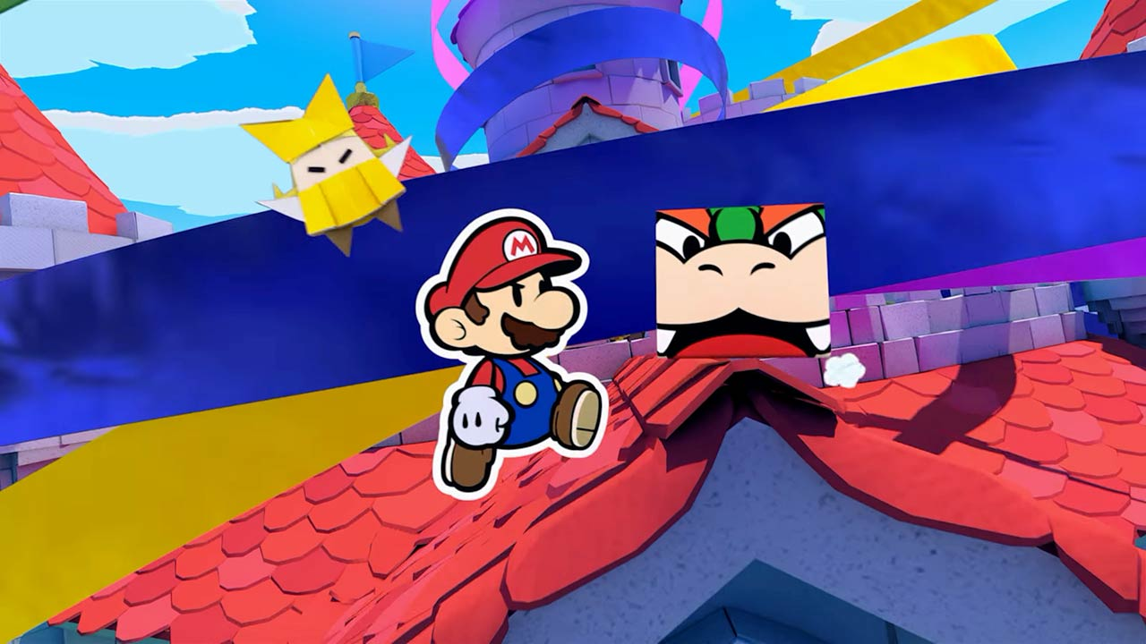 Paper Mario: The Origami King - recenze