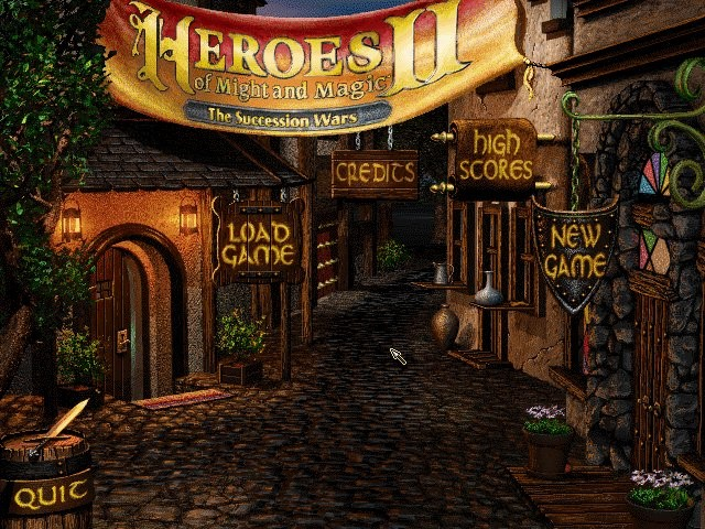 Klik pro zvětšení (Heroes of Might and Magic 2: Gold)
