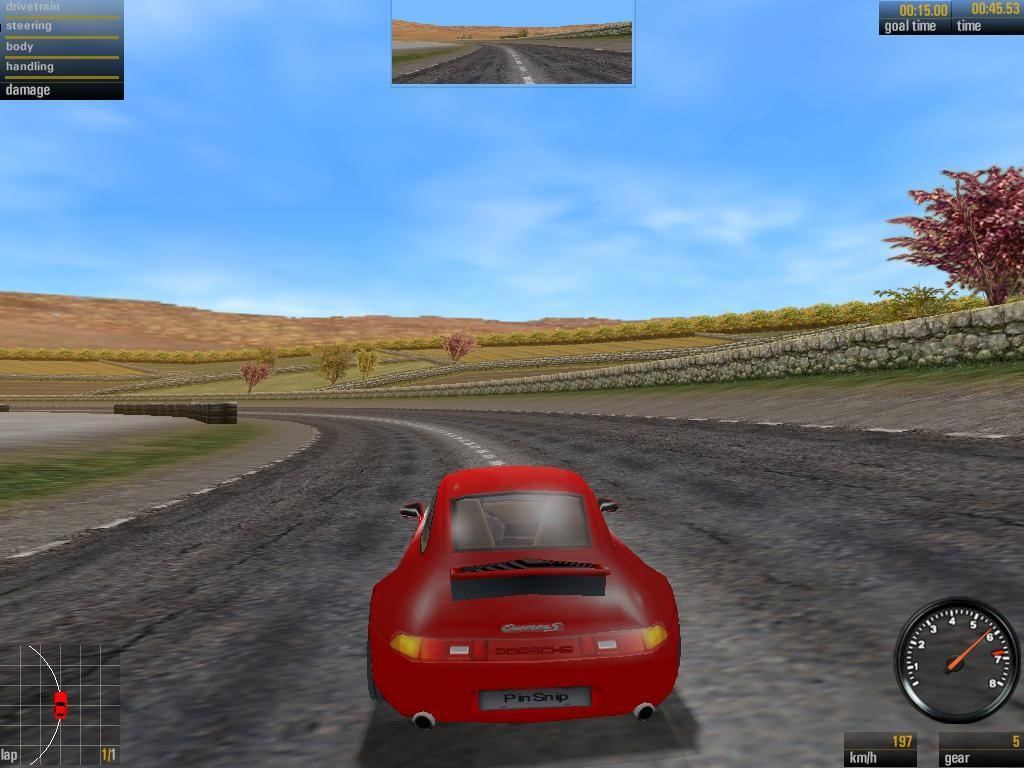 Klik pro zvětšení (Need for Speed: Porsche Unleashed)