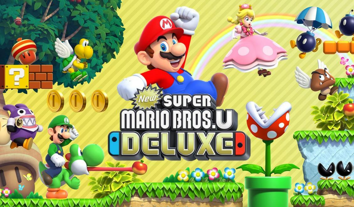 New Super Mario Bros. U Deluxe vyjde na Switch
