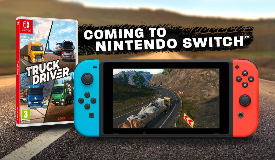 Truck Driver si to namieril na Switch