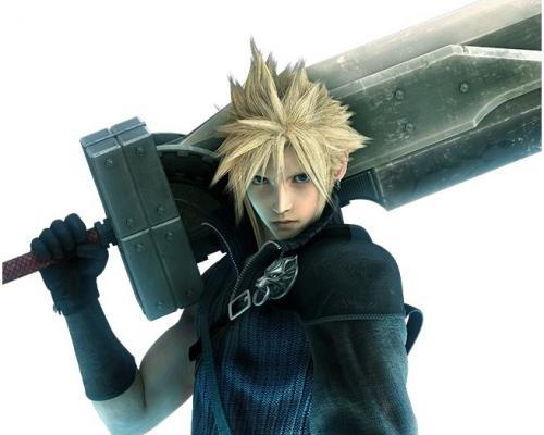 Cloud z Final Fantasy VII do SSB