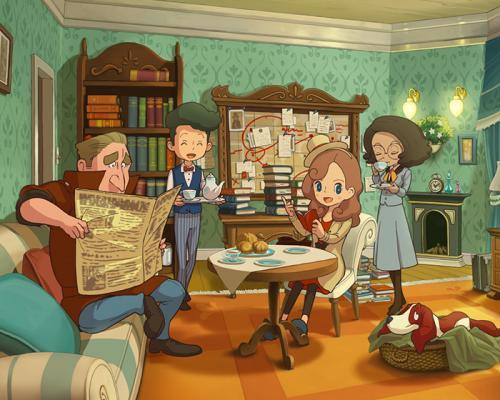 Layton's Mystery Journey: Katrielle and the Millionaires' Conspiracy - recenze