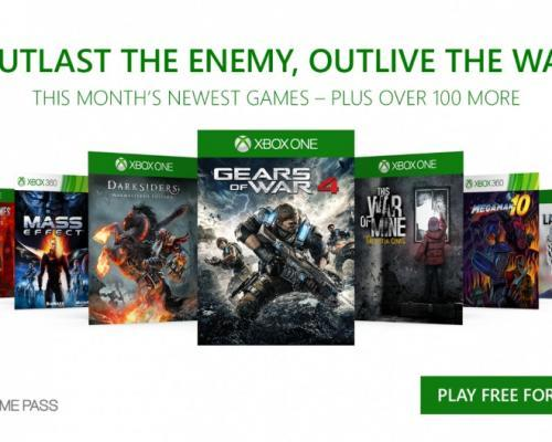Gears of War 4 v prosinci v Xbox Game Pass