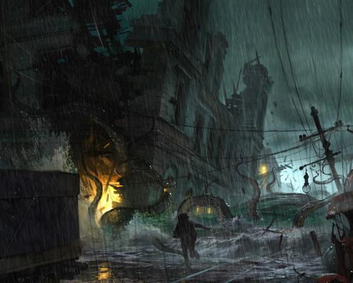 Cthulhu projekt The Sinking City a GC trailer