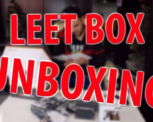 UNBOXING - LEET-BOX IN THE SHADOW GAMLERY