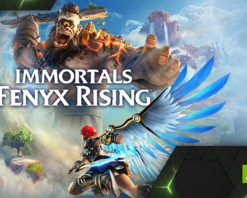 Immortals: Fenyx Rising je Game Ready na GeForce NOW