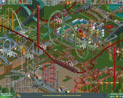 RollerCoaster Tycoon 2 + Time Twister